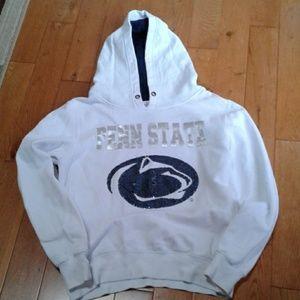 Penn State white-out hoodie sweatshirt